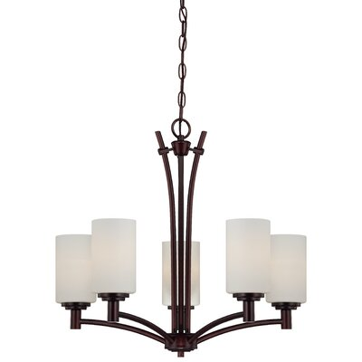 Cana 5-Light Shaded Chandelier