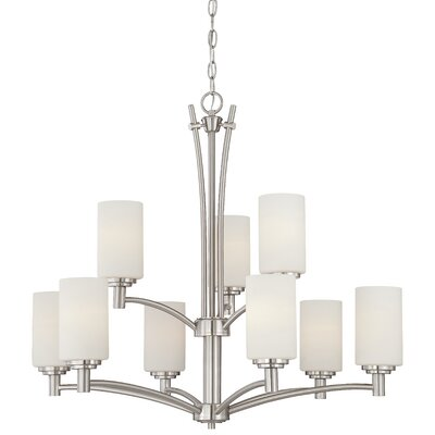 Cana 9-Light Indoor Shaded Chandelier