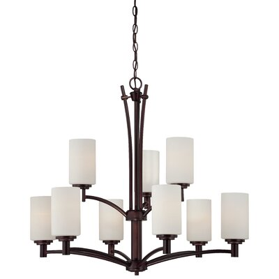 Cana 9-Light Shaded Chandelier