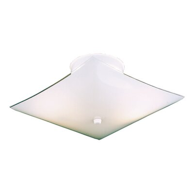 Square Semi Flush Mount
