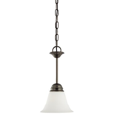 Ripley 1-Light Mini Pendant Finish: Oiled Bronze
