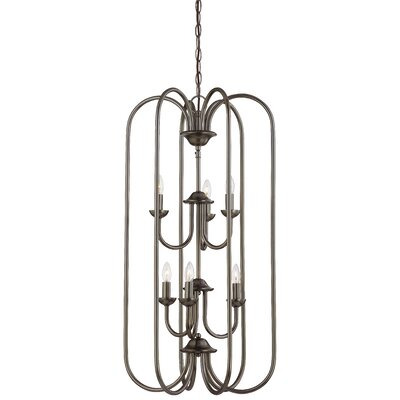 Bella 6-Light Foyer Pendant Finish: Oiled Bronze