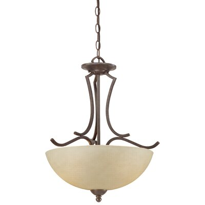 Triton 2-Light Inverted Pendant Finish: Sable Bronze
