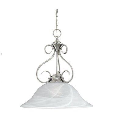 Florentine 1-Light Bowl Pendant