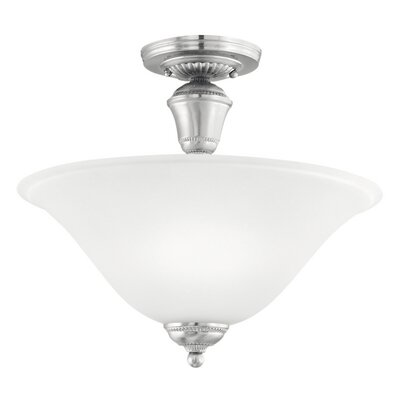 Whitmore 2-Light Convertible Inverted Pendant Finish: Brushed Nickel