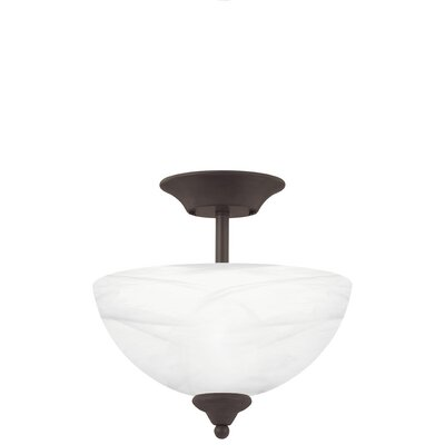 Clara 2-Light Inverted Pendant