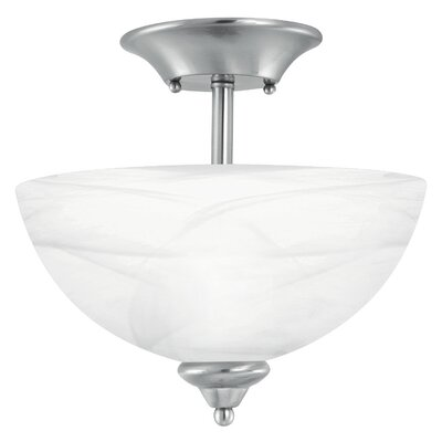 Tahoe 2-Light Convertible Inverted Pendant Finish: Brushed Nickel