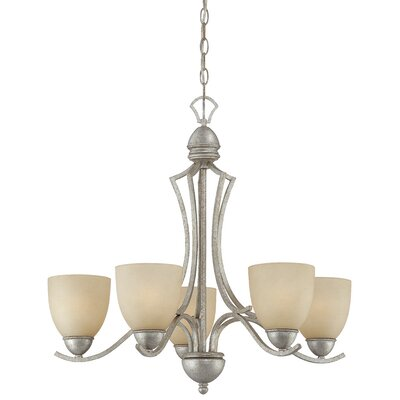 Triton 5-Light Shaded Chandelier