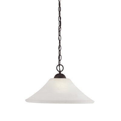 Elipse 1-Light Pendant Finish: Painted Bronze