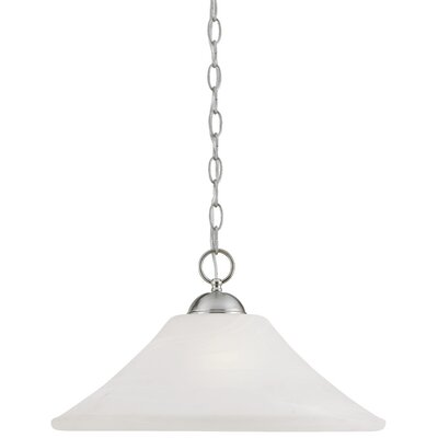 Elipse 1-Light Pendant Finish: Brushed Nickel