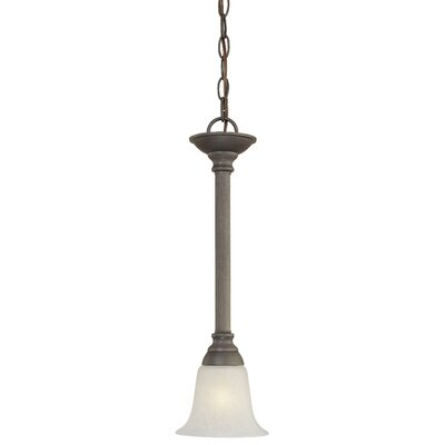 Baum 1-Light Mini Pendant Finish: Painted Bronze