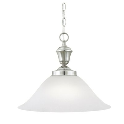 Whitmore 1-Light Pendant Finish: Brushed Nickel