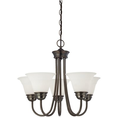 Ripley Modern 5-Light Shaded Chandelier