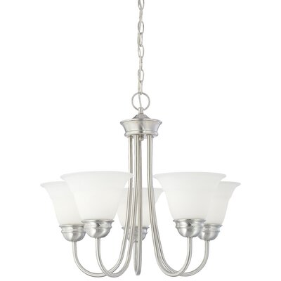 Ripley 5-Light Shaded Chandelier