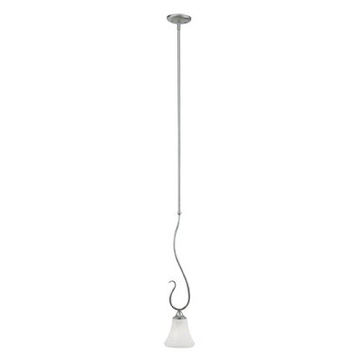 Elipse 1-Light Mini Pendant Finish: Brushed Nickel