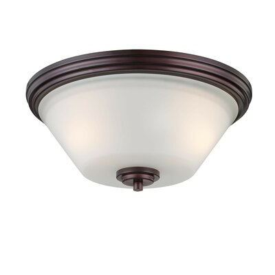 Cana 2-Light Ceiling Light Finish: Sienna Bronze