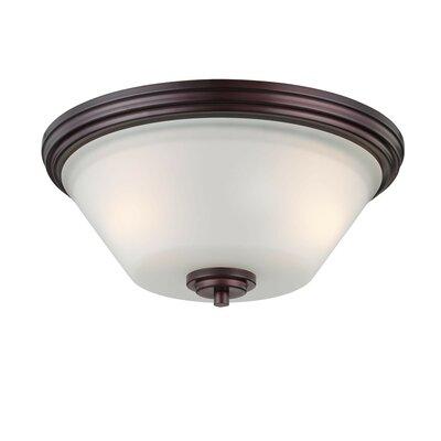 Pittman 2-Light Ceiling Light Finish: Sienna Bronze