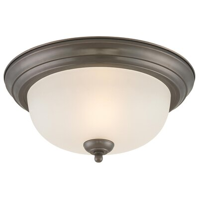 Warnick 1-Light Ceiling Light Size: 5.5 H x 13.25 W