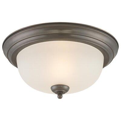 Warnick 1-Light Ceiling Light Size: 5.5 H x 13.25 W
