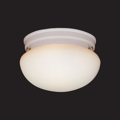 1-Light Drum Style Flush Mount