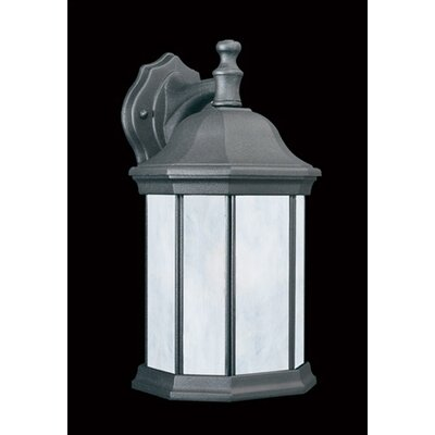 Hawthorne Outdoor Wall Lantern in Matte Black - Energy Star