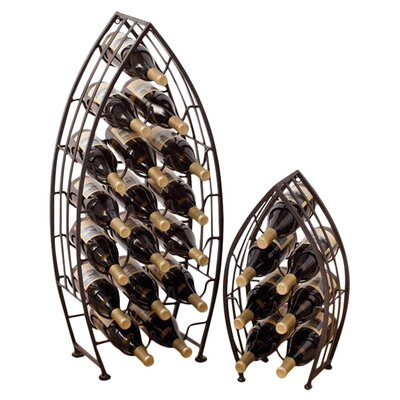 Sycamore 2 Piece 24 Bottle Wine Rack Set