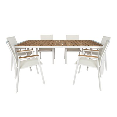 Santino 7 Piece Dining Set