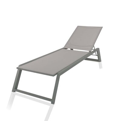 Melodie Chaise Lounge Finish: Gray