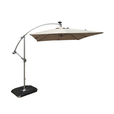 8 Cantilever Umbrella Color: Gray