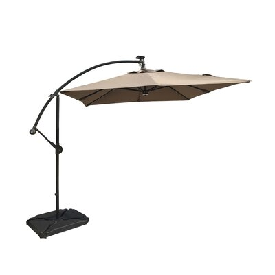 8 Cantilever Umbrella Color: Taupe