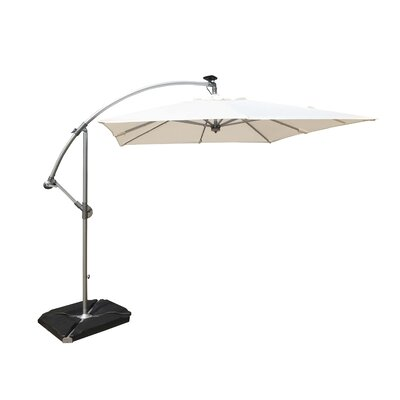 8 Cantilever Umbrella Color: White