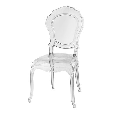 Belle Epoque Dining Chair Finish: Clear