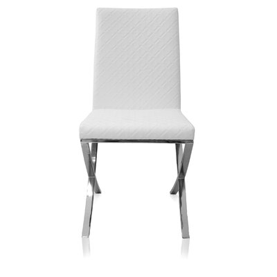 Side Chair (Set of 2) Finish: White