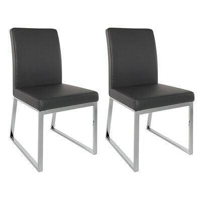 Lexington Parsons Chair (Set of 2) Color: Black