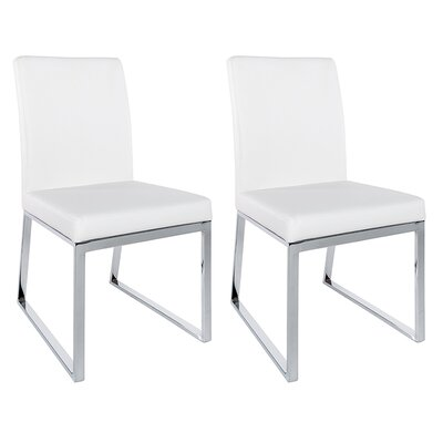 Lexington Parsons Chair (Set of 2) Color: White