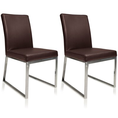 Lexington Parsons Chair (Set of 2) Color: Brown