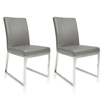 Lexington Parsons Chair (Set of 2) Color: Gray