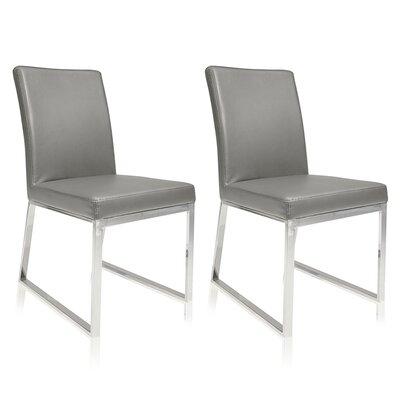 Lexington Parsons Chair (Set of 2) Color: Gray