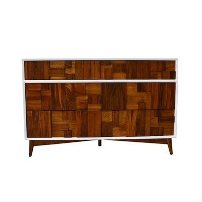 Melange 6 Drawer Dresser