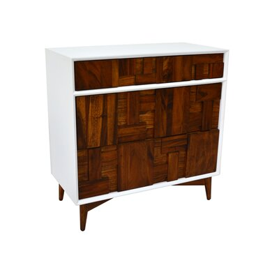 222 Fifth Furniture Melange 3 Drawer Chest