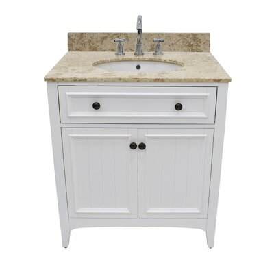 Gettys 30 Single Bathroom Vanity Set