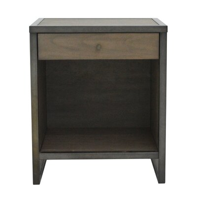 Feder End Table with Storage