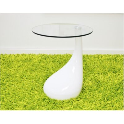 Nelda End Table Color: White
