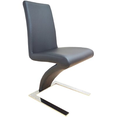 Sato Upholesterd Dining Chair Upholstery Color: Gray