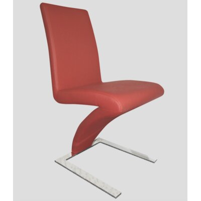 Affogato Side Chair Finish: Red