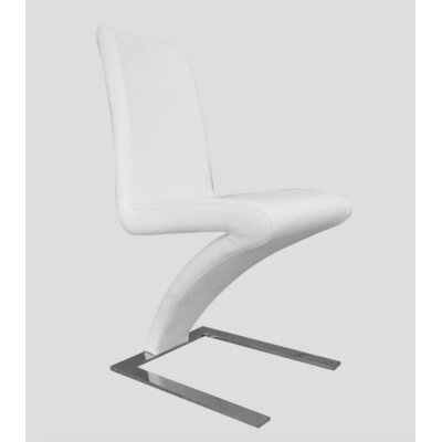 Affogato Side Chair Finish: White