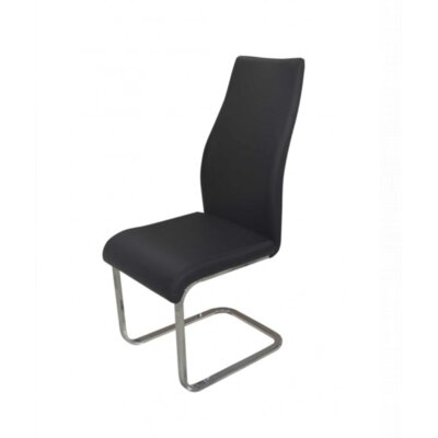 Balconi Side Chair Upholstery Color: Black