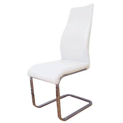 Balconi Side Chair Upholstery Color: White