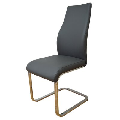 Balconi Side Chair Upholstery Color: Dark Gray