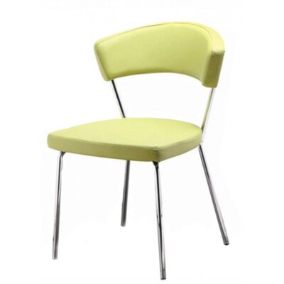 Azurro Side Chair Upholstery Color: Green